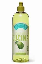 Cucina Lime Zest and Cypress Dishwashing Detergent