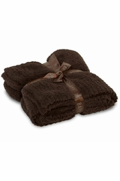 Barefoot Dreams BambooChic Espresso Throw