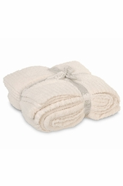 Barefoot Dreams BambooChic Cream Throw