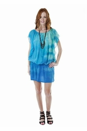 Gypsy 05 Rena Ocean Silk Flutter Mini Dress