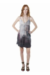 Gypsy 05 Rena Smoke Silk Layered Mini Dress