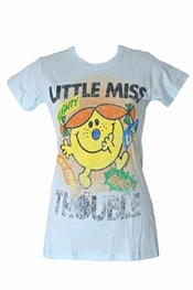Junk Food Little Miss Trouble Long Tee