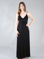 Ella Moss Black Long Dress