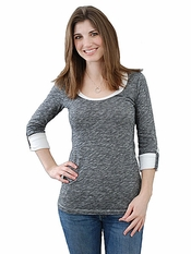 Ella Moss Georgie 3/4 Sleeve Top