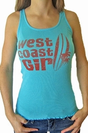 Jake's Dry Goods West Coast Girl tank