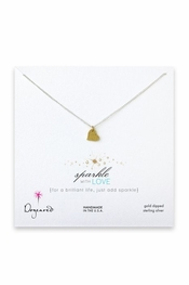 Dogeared Jewelry Sparkle With Love Necklace