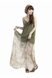 Gypsy 05 Talya Olive Silk Maxi Dress