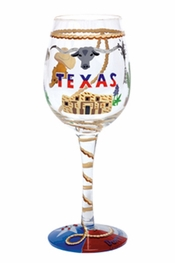 Lolita Texas Wine Glass