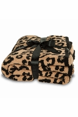 Barefoot Dreams Into The Wild CozyChic Leopard Throw