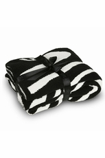 Barefoot Dreams Into The Wild CozyChic Zebra Throw