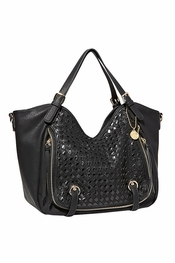 Big Buddha Selena Black Handbag
