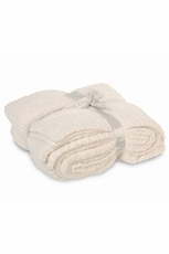 Barefoot Dreams CozyChic Cream Throw