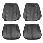 1971-1972 EL CAMINO FRONT BUCKET SEAT COVERS SADDLEWOOD