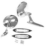 1964-1965 Chevelle Bowtie Mirror Kit