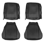 1964 EL CAMINO FRONT BUCKET SEAT COVERS LIGHT BLUE