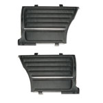 1964 Chevelle Rear Door Panels, Black
