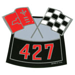 1964-1972 CHEVELLE BIG BLOCK AIR CLEANER DECAL