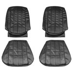 1966 EL CAMINO FRONT BUCKET SEAT COVERS WHITE