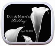 Wedding Favors - Calla Lily Wedding Favors Mint Tin