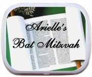 Bar Mitzvah/Bat Mitzvah Personalized Mint Tins