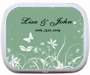 Spring Wedding Favors - Butterfly Theme Mint Tins