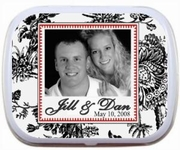 Photo Wedding Mint Tins - Personalized Mint Tins - Unique Wedding Favors