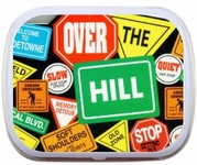 Over the Hill Birthday Mint Tins Party Favors