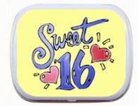 Sweet 16 Mint Tins