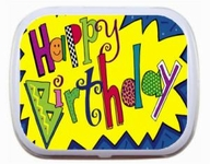Sweet 16 Mint Tins - Happy Birthday