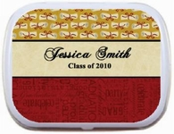 Diploma Red Bottom Border