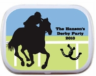 Derby Party Favors Candy Mint Tins 2011 Horse themed Party Favors
