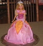 Barbie and the Diamond Castle Cake