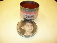 Personalized Candle Tins - This Little Light of Mine