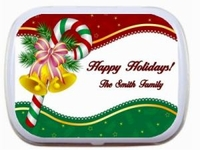 Christmas Holiday Party Favor Mint Tins - Candy Cane