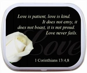 Love is Patient, Love is Kind Mint Tins
