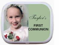 Personalized Mint Tins - Photo First Communion Mint Tins