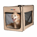 Great Paw Chateau Soft Dog Crate