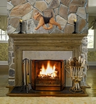 Dog Wall Art - Overmantle Fireplace Art