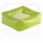 "Bowsers-""Lime Lizard"" -  Microvelvet Dutchie Dog Bed"