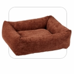 "Bowsers-""Paisley Chili Pepper"" -  Microvelvet Dutchie Dog Bed"
