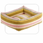 "Bowsers-""Riviera"" -  Microvelvet Dutchie Dog Bed"