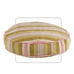"Bowsers-""Riviera Stripe"" -  Super-Soft -  Bowsers Dog Bed"
