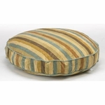 "Bowsers-Super-Soft Round Dog Bed -  ""Sierra Stripe"""