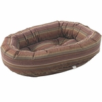 Bowsers Microvelvet Donut Dog Bed-Jester