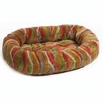 Bowsers Microvelvet Donut Dog Bed-Melody