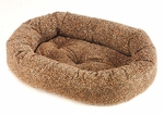 Bowsers Cotton Donut Dog Bed-Puma