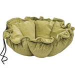 Bowsers-Apple Green Bones -  Buttercup Dog Bed