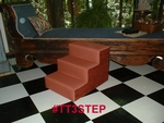 Schotzie - Wood Framed Pet Steps