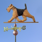Airedale Weathervane-Standard