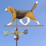 Beagle Weathervane-Tri